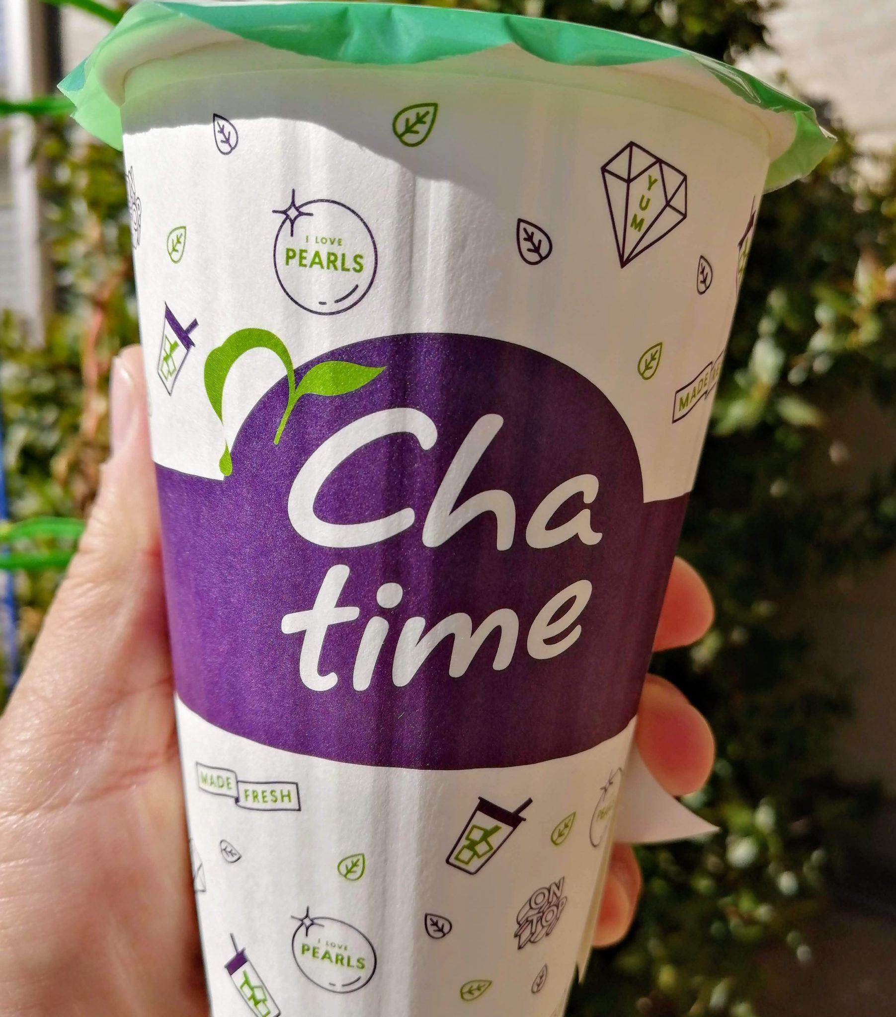 オープン直後に「Chatime(チャタイム) オリオン通り店」に行ってきた