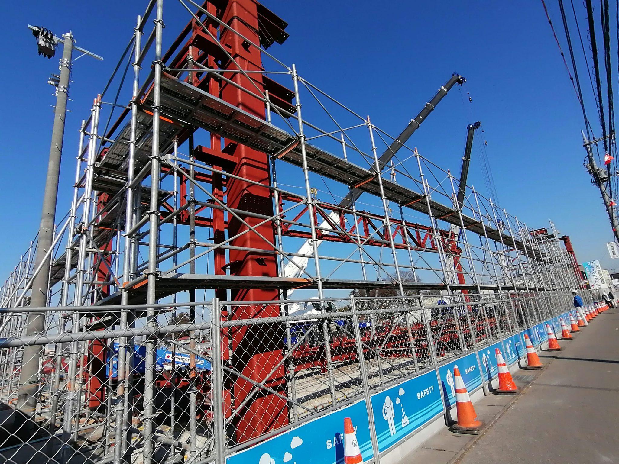 【宇都宮】競輪場通りに建設中の巨大な施設は「ネッツトヨタ栃木」でした