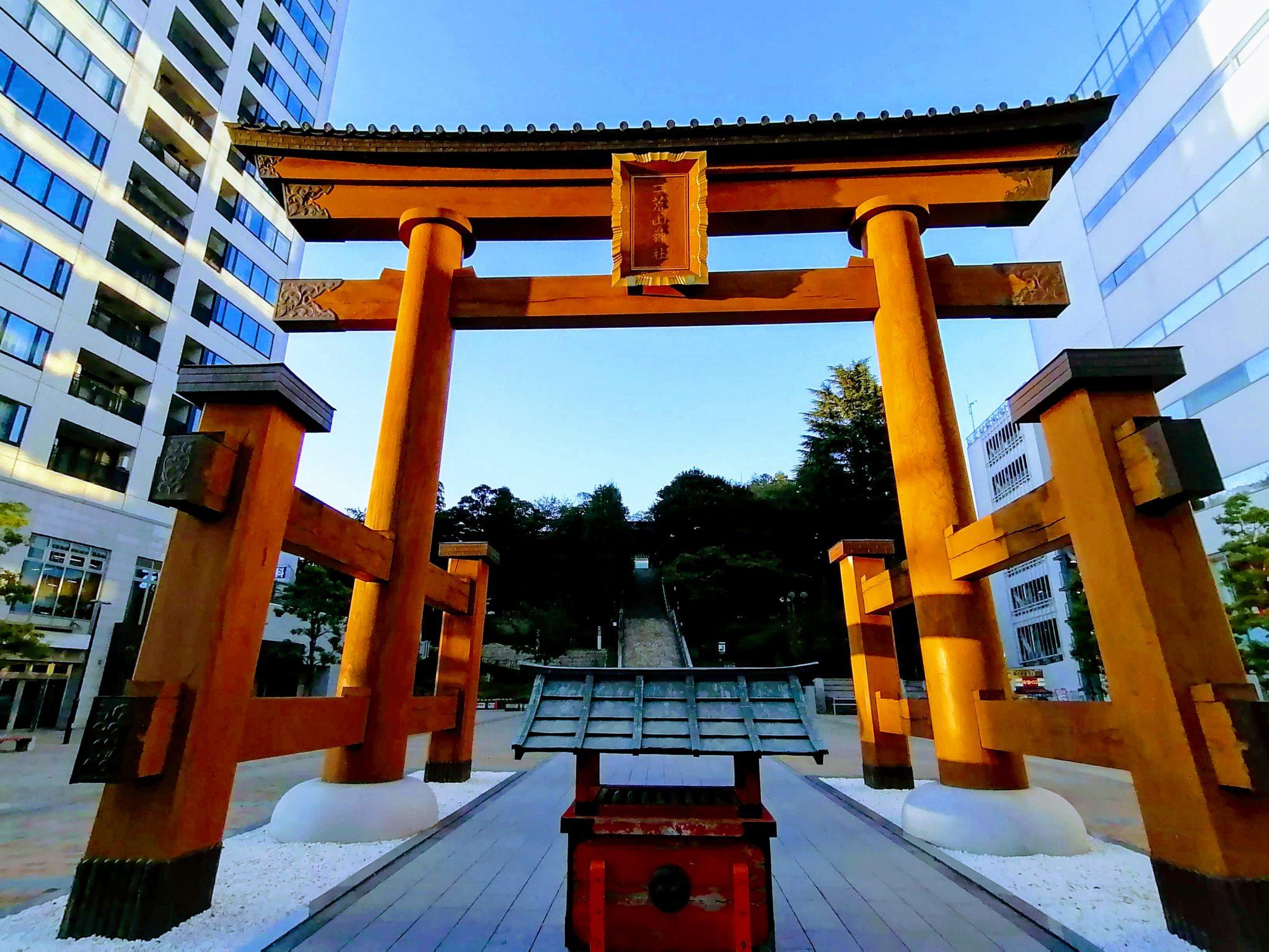 宇都宮二荒山神社の手水舎が新型コロナ対策で・・